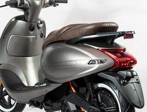 scooter electrique S6 profil