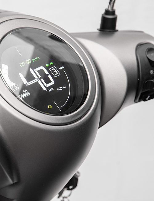 scooter electrique S6 compteur