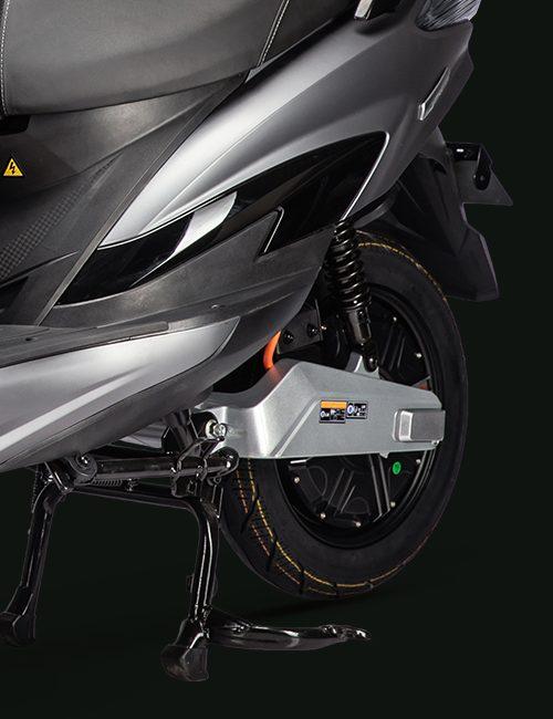 scooter electrique X1 béquille