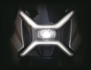 scooter electrique X1 phare led