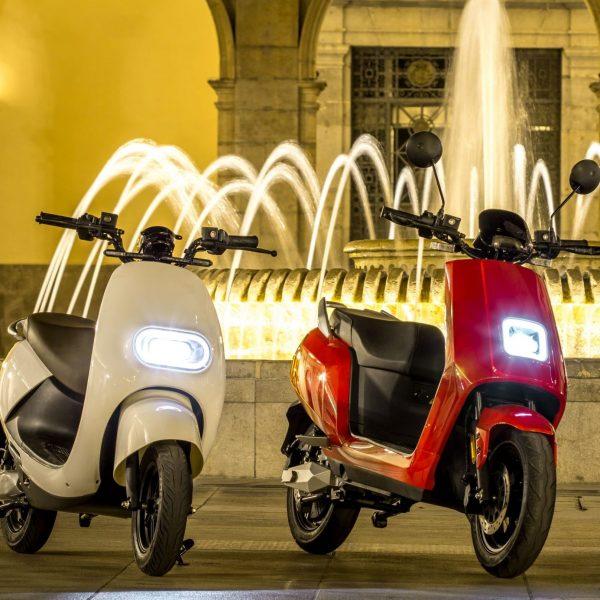 gamme scooters électriques