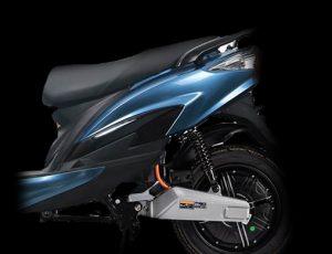 scooter electrique X1 bleu